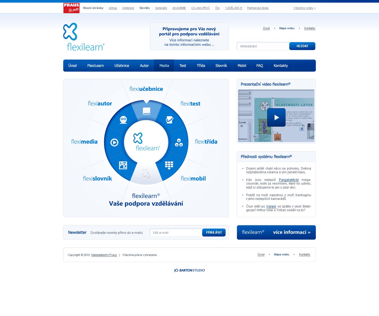 FlexiLearn - Web Design